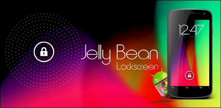 Jelly Bean HD Lockscreen Theme apk