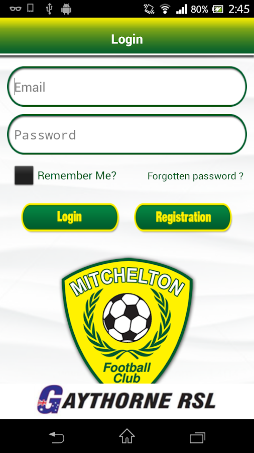 Mitchelton Football Club- screenshot