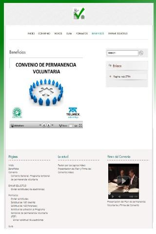 Permanencia Voluntaria STRM MX - screenshot
