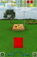 Screenshot of CornHole 3D Bag Toss Game