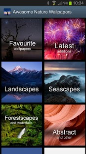 Awesome Nature Wallpapers - screenshot thumbnail