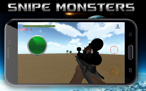 Sniper VS Monsters