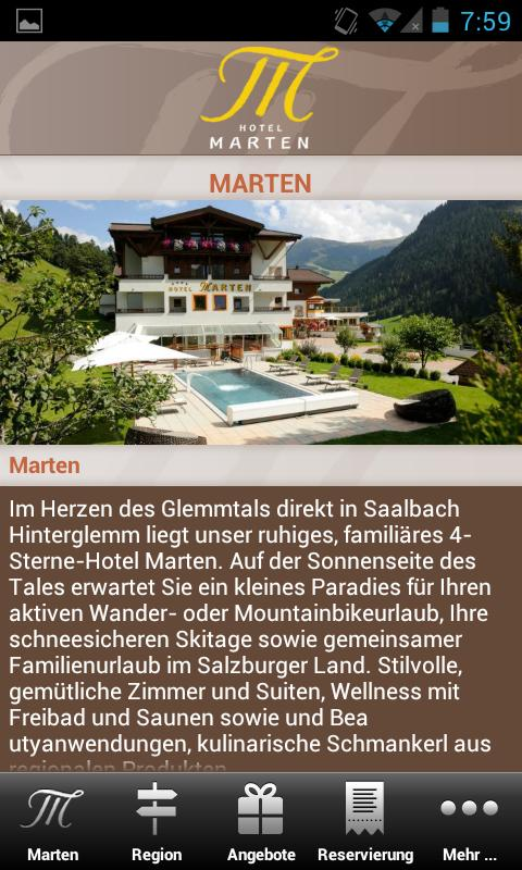 Hotel Marten - screenshot