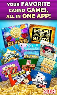GSN Casino FREE Slots & Bingo - screenshot thumbnail