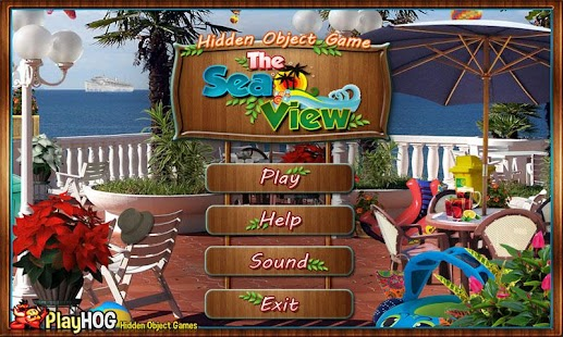 # 265 New Free Hidden Object Game Puzzles Sea View- screenshot thumbnail