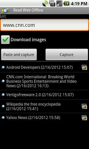 Read Web Offline Free  screenshots 2