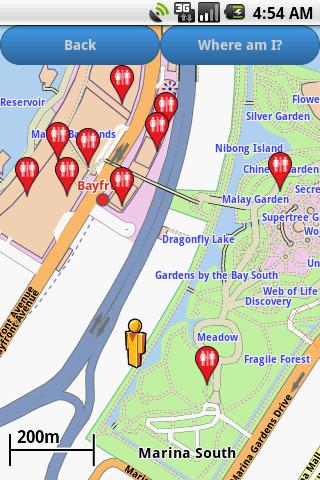 Singapore Amenities Map