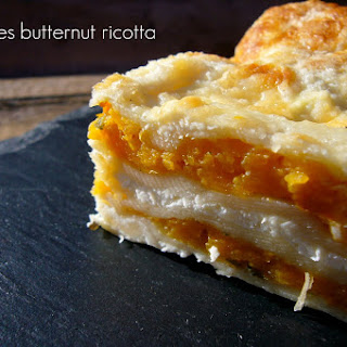 Butternut Squash and Ricotta Lasagna.