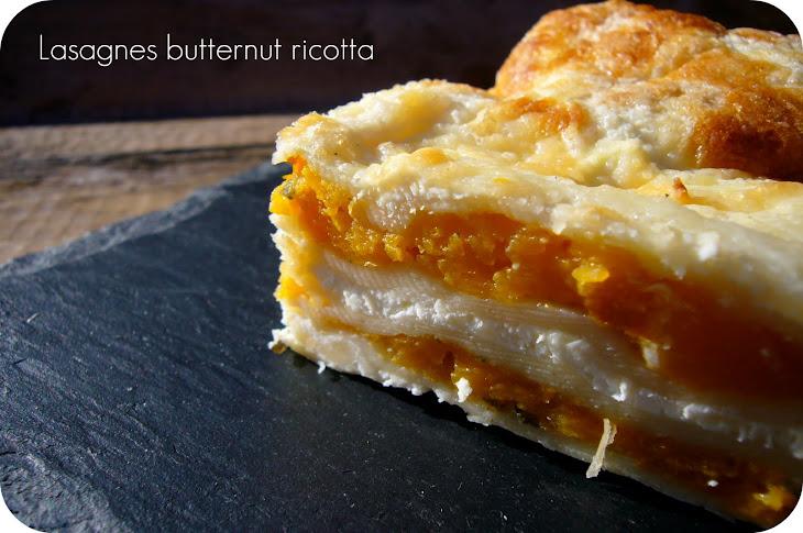 Butternut Squash and Ricotta Lasagna Recipe