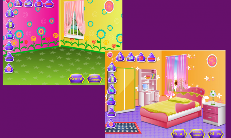 Kids room decoration girl game android apps on google play for 143dressup games decoration