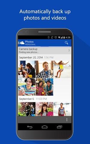 android OneDrive Screenshot 2