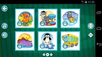 Screenshot of Jigsaw Puzzles for Kids LITE