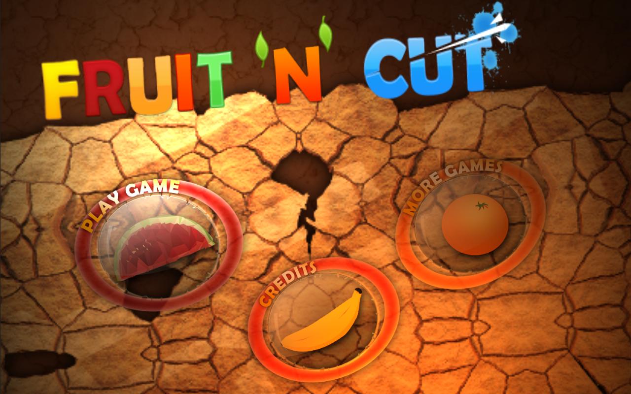 Cut fruits game - Fruit N Cut Screenshot