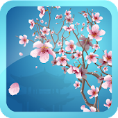 Abstract Sakura Live Wallpaper