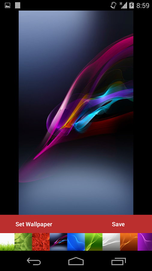 Xperia UltraHD Stock Wallpaper - screenshot