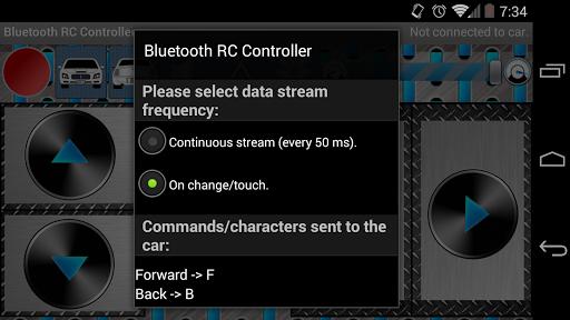 Arduino Bluetooth RC Car 1.7 screenshots 5