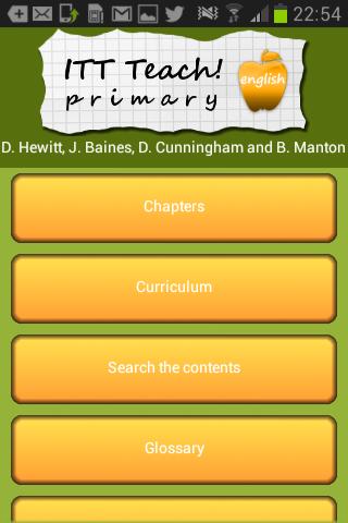 ITT Teach Primary English