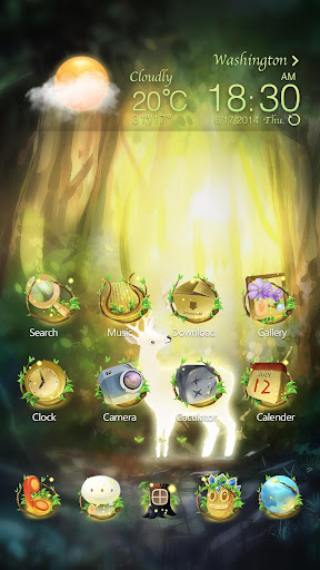 Fairy Carol GO Launcher Theme