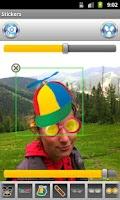 Screenshot of Photo Stickers
