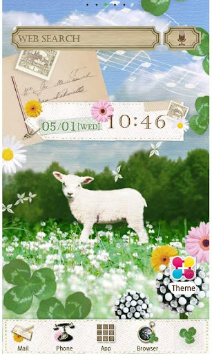Little Lamb Wallpaper Theme 1.5 Windows u7528 1