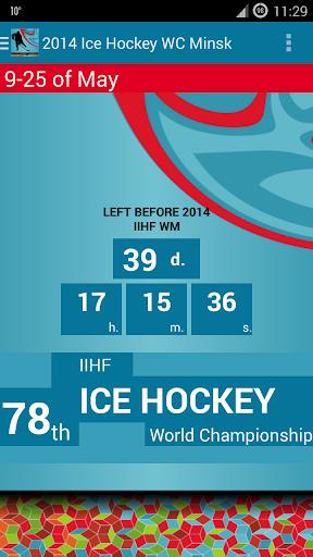 2014 Ice Hockey WM Minsk