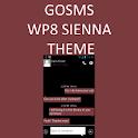 GO SMS WP8 Sienna Theme