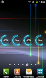 Glow Battery Widget - screenshot thumbnail