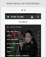 Screenshot of River Island