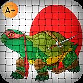 Ninja Hits Turtle