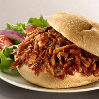 Slow Cooker Pulled Pork Sandwiches.