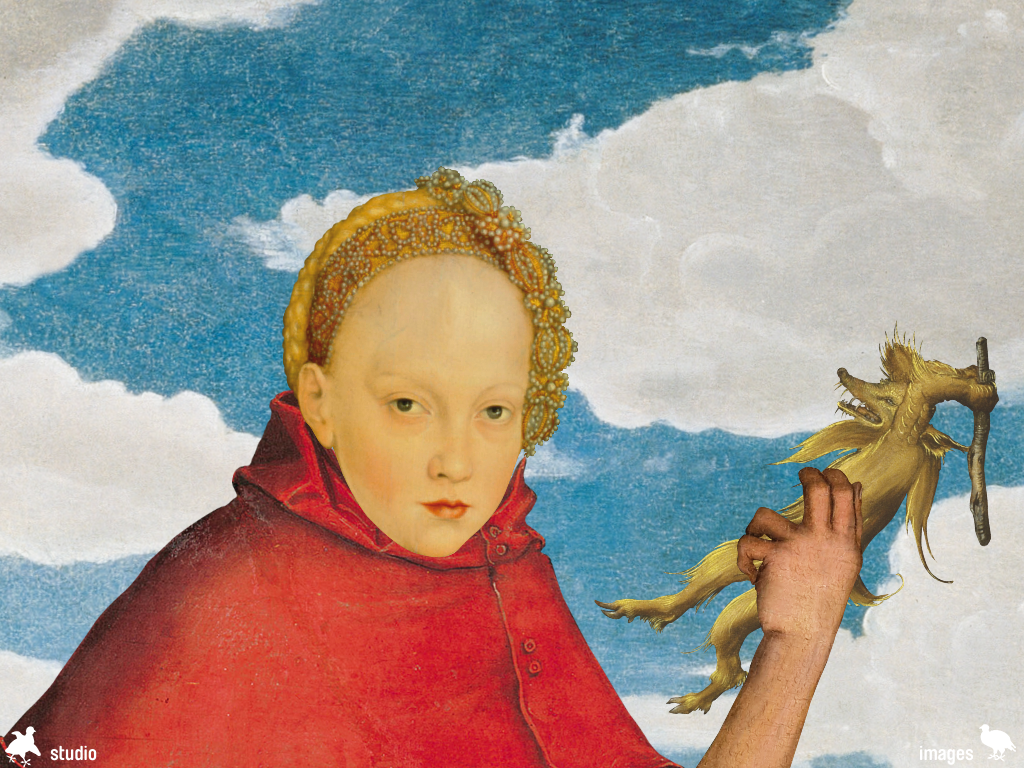 Pop Up Cranach: screenshot