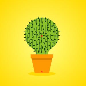 Lucky Cactus 1 Icon