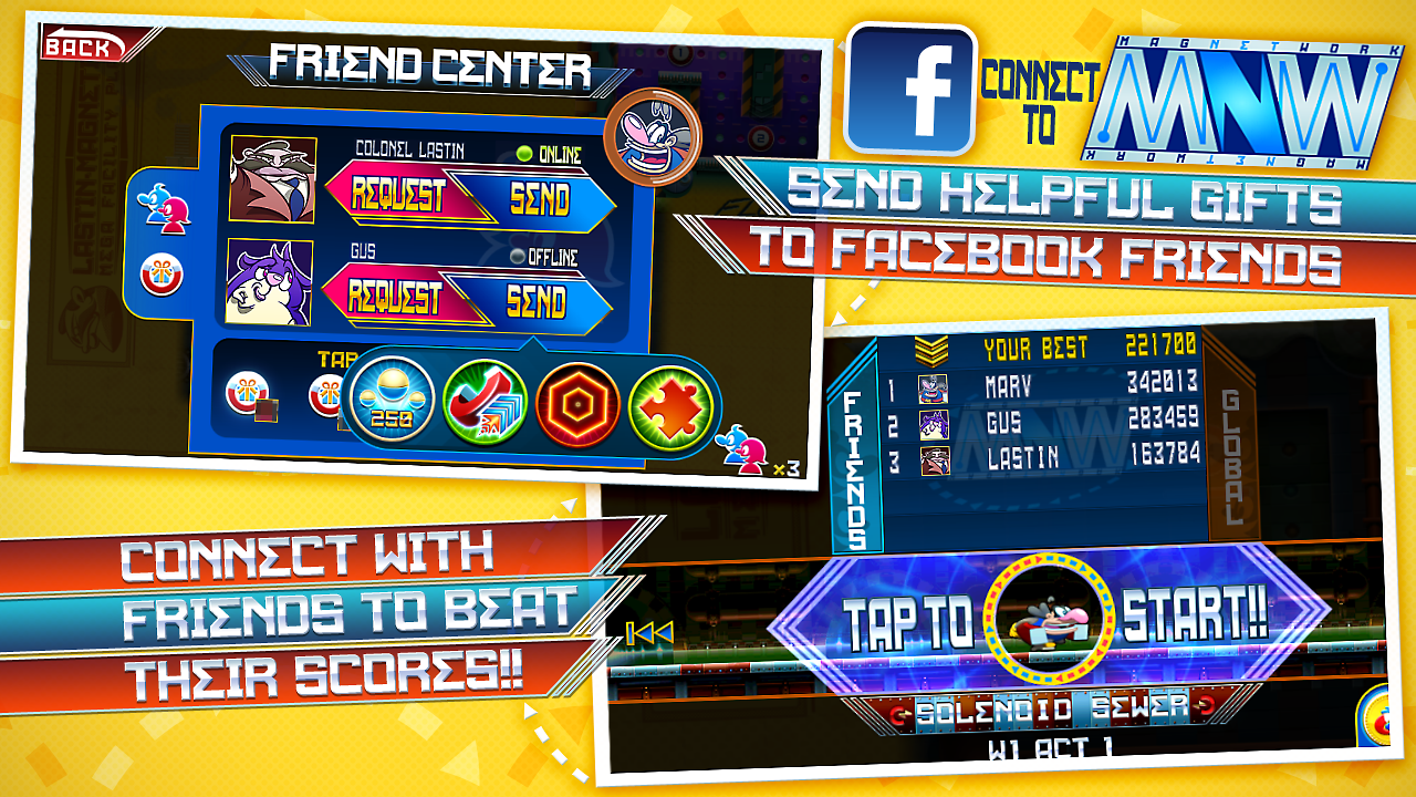 Major Magnet: Arcade- screenshot