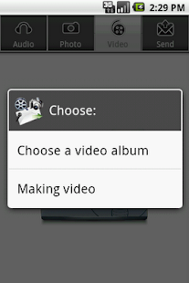 Audio, Photo, Video to E-Mail- screenshot thumbnail