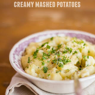Weight Watchers Creamy Low Calorie Mashed Potatoes.