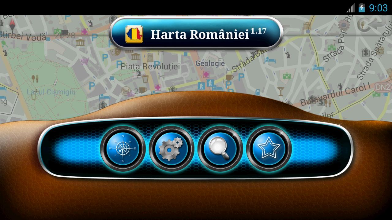 carte gps Roumanie
