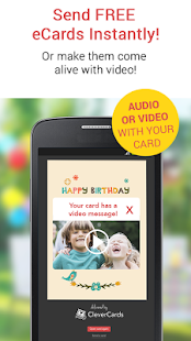 CleverCards Birthday Cards - screenshot thumbnail