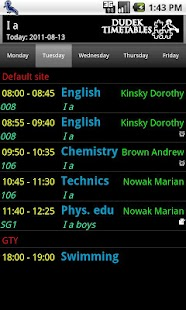Student Timetable Helper- screenshot thumbnail