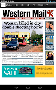 Western Mail Newspaper - screenshot thumbnail