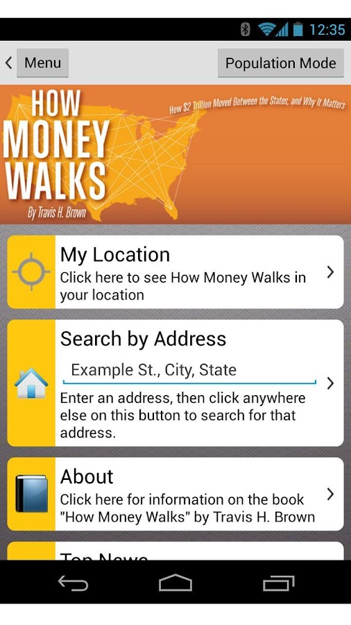 How Money Walks Pro- screenshot