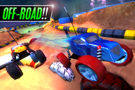 Touch Racing 2 Screenshot 2