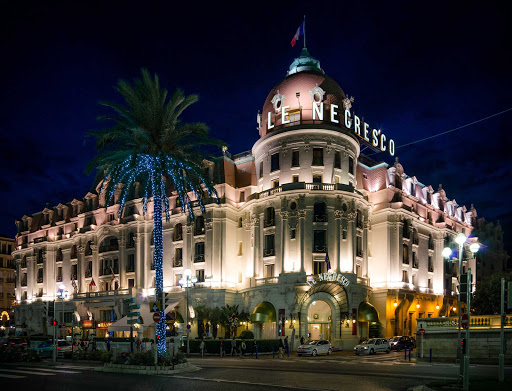 Hotel-Le-Negresco-Nice-France - The Hotel Le Negresco in Nice, France.