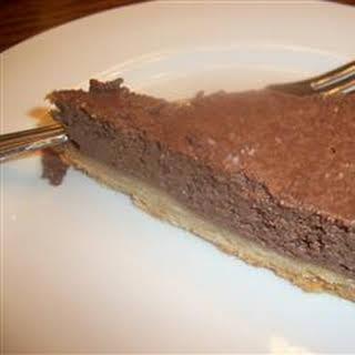 Tofu Chocolate Cake.