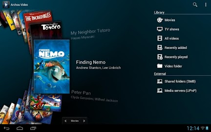 Archos Video Player Screenshot 23