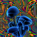 Shrooms Live Wallpaper HD logo