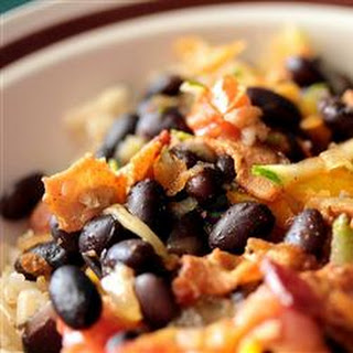Black Beans with Bacon
