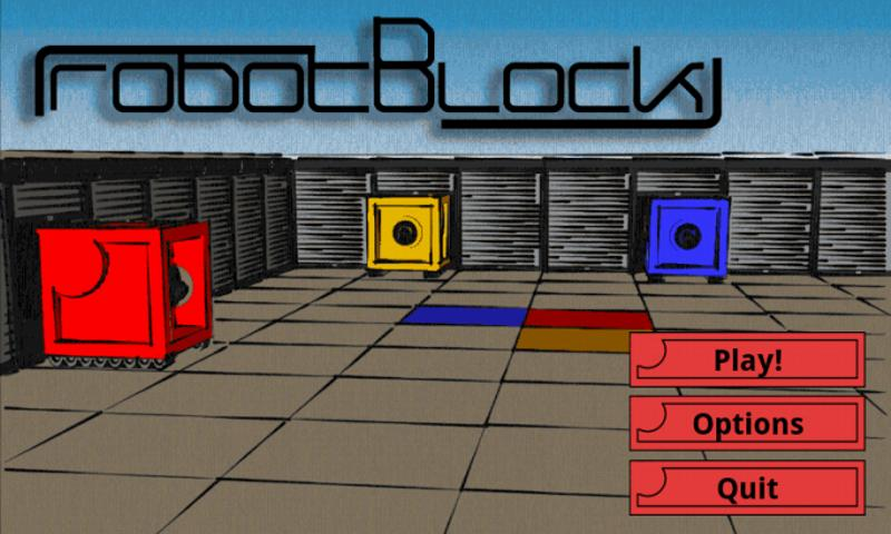 RobotBlock- screenshot