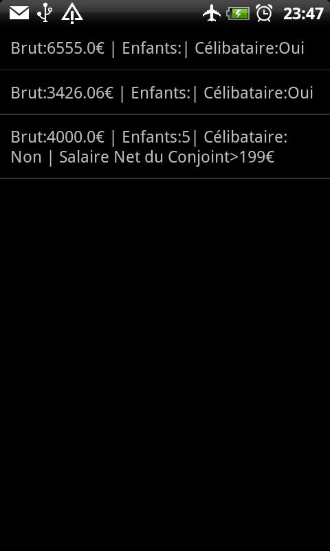 Brut-Net BE - screenshot