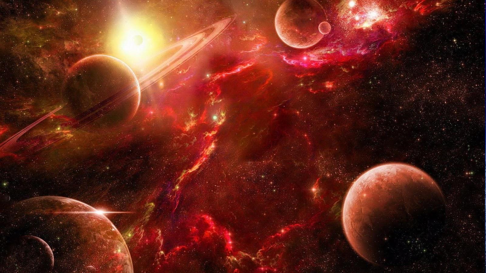 Gmail planets theme - Planets Live Wallpaper Screenshot