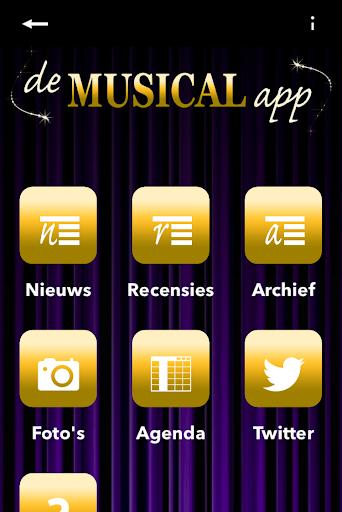 De Musical App Nederland